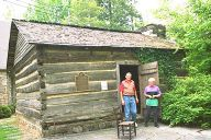 Ogle Cabin, First Settler Structure in Gatlinburg, Tennessee