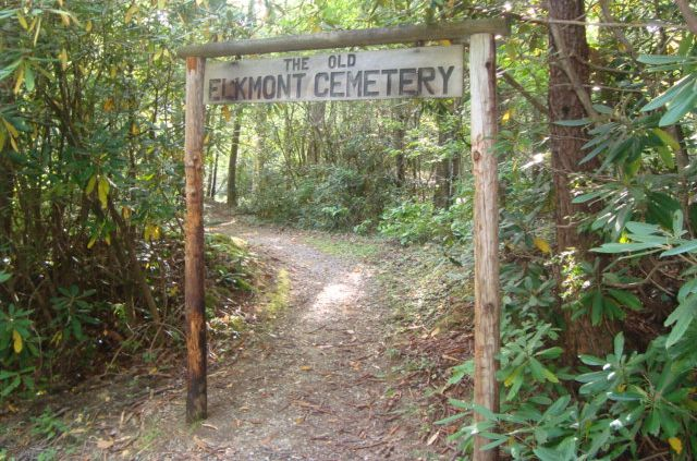 Elkmont Cemetery Sevier County Tennessee Us Smoky